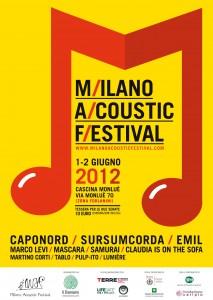 MAF 2012 - Milano Acoustic Festival